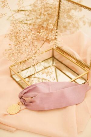 Bracelet Suzie Soie Lila - Maison Célestine