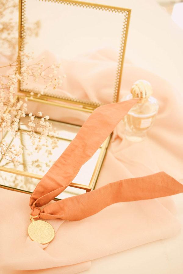 Bracelet Suzie Rose Thé - Maison Célestine