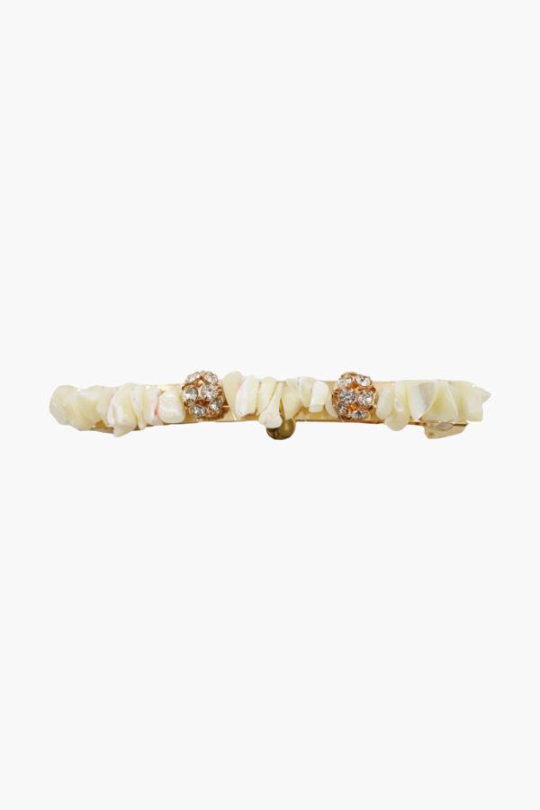 Barrette perles - Maison Célestine